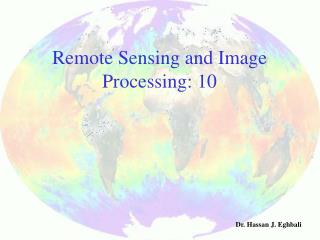 Remote Sensing and Image Processing: 10