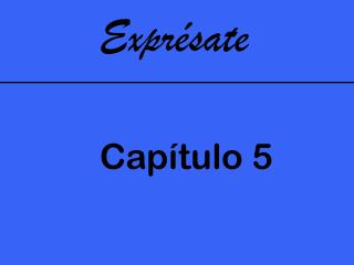 Expr�sate