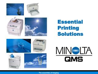 Essential Printing Solutions