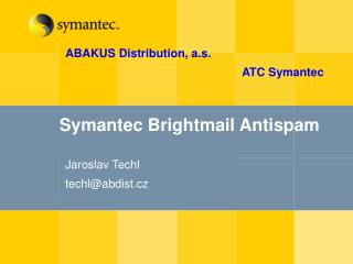 Symantec Brightmail Antispam