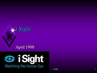 i Sight
