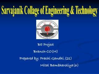 Sarvajanik Collage of Engineering & Technology