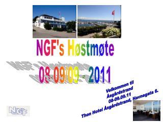 NGF's Høstmøte 08-09/09 - 2011