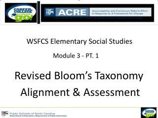 WSFCS Elementary Social Studies