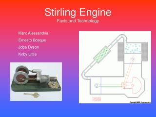 Stirling Engine Facts and Technology