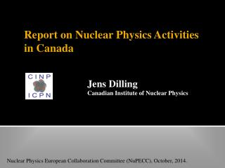 Report on Nuclear Physics Activities in Canada