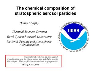 The chemical composition of stratospheric aerosol particles