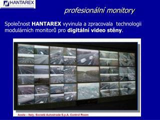 profesionální monitory