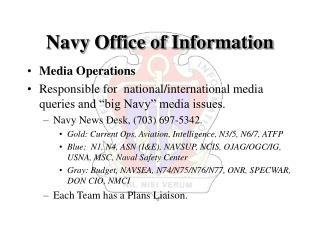 Navy Office of Information