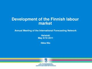 Development of the Finnish labour market