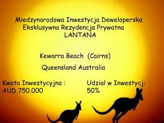 Miedzynarodowa Inwestycja Deweloperska         Eksklusywna Rezydencja Prywatna LANTANA