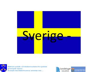 Sverige -