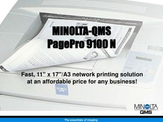 MINOLTA-QMS PagePro 9100 N