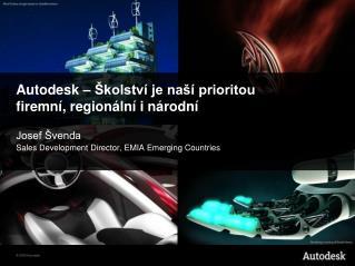 Autodesk  – Školství je naší prioritou firemní, regionální i národní