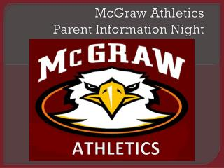McGraw Athletics Parent Information Night