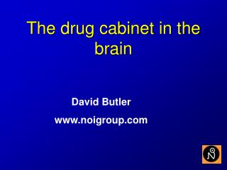 The drug cabinet in the brain