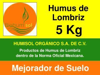 HUMISOL ORGÁNICO S.A. DE C.V.