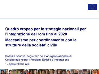 Quadro eropeo per le strategie nazionali per l'integrazione dei rom fino al 2020