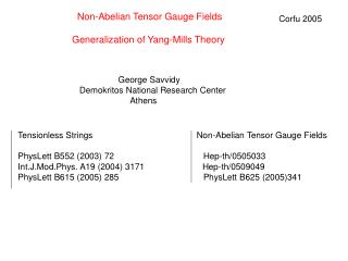 Non-Abelian Tensor Gauge Fields  Generalization of Yang-Mills Theory