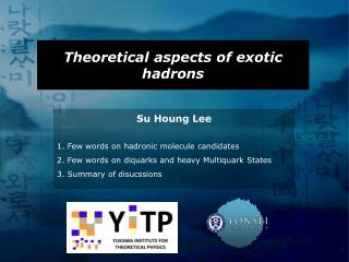 Theoretical aspects of exotic hadrons