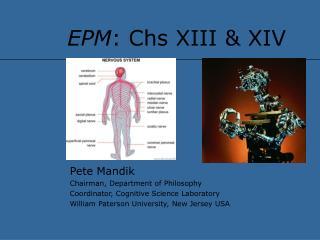 EPM: Chs XIII  XIV
