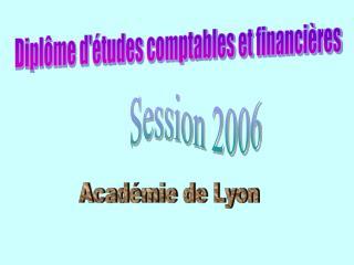 Diplôme d'études comptabIes et financières
