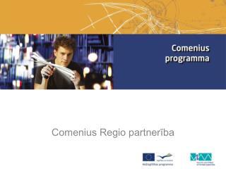 Comenius Regio partnerība