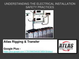 Top problems that relate to electrical installations