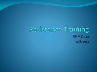 Resistance Training