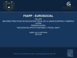 FIIAPP - EUROSOCIAL TALLER: