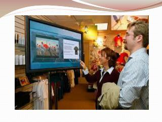 Digital Signage, Multi-Screen Touch Monitor in Boston