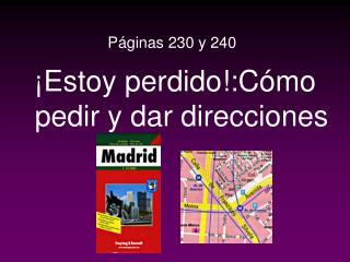 Páginas 230 y 240