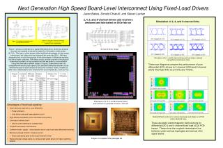 Next Generation High Speed Board-Level Interconnect Using Fixed-Load Drivers