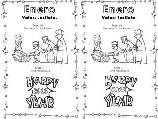Enero Valor: Justicia.