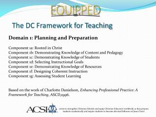 The DC Framework for Teaching