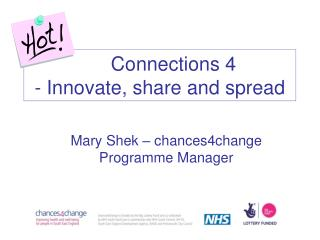 Connections 4 - Innovate, share and spread