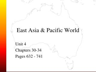 East Asia & Pacific World