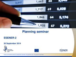 Planning seminar