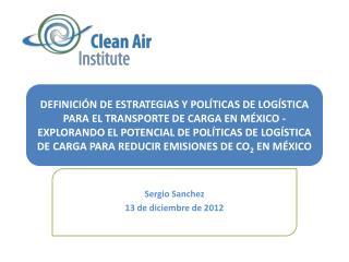 Sergio Sanchez 13 de  diciembre  de 2012