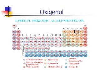 Oxigenul
