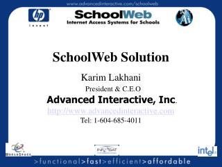 SchoolWeb Solution
