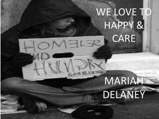 MARIAH DELANEY