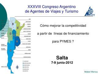 XXXVIII Congreso Argentino de Agentes de Viajes y Turismo