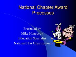 National Chapter Award Processes