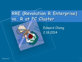 RRE (Revolution R Enterprise) vs. R at PC Cluster
