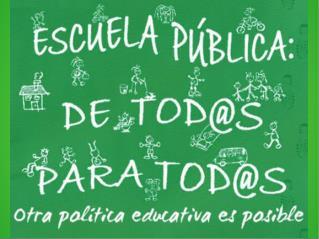 RECORTES EDUCATIVOS EN ANDALUCÍA
