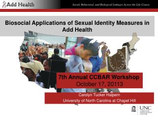 Biosocial Applications of Sexual Identity Measures in Add Health