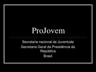 ProJovem