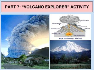 "PART 7: ""VOLCANO EXPLORER"" ACTIVITY"