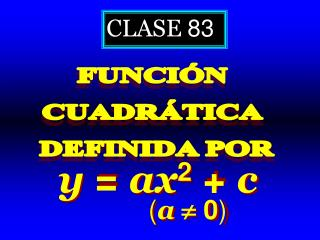 CLASE  83